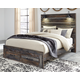 Drystan Panel Bed with 2-Storage