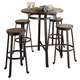 Challiman Dining Table and 4 Chairs