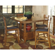 Ralene Counter Height Dining Table and 4 Barstools