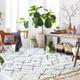 Hand Crafted Tassel Area Rug