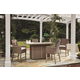 Beachcroft Outdoor Dining Table and 4 Chairs