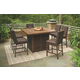 Paradise Trail Outdoor Dining Table and 6 Chairs