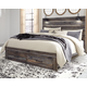 Drystan King Panel Bed with 2-Storage