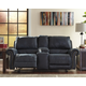 Milhaven Reclining Loveseat with Console