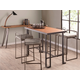 Fuji Industrial Stackable Counter Stool (Set of 2)