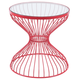 Patio Red Side Table