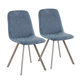 Tabitha Industrial Dining Chair (Set of 2)