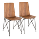 Stout Industrial Chair (Set of 2)