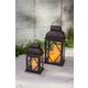 Outdoor Nested Metal Lanterns (Set of 2)
