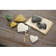 Cast Aluminum Silver Finish Heart Boxes (Set of 2)