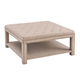 Nora Upholstered Coffee Table Ottoman