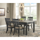 Tyler Creek Dining Table and 4 Chairs