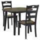 Froshburg Dining Table and 2 Chairs