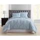 Pleated Twin XL Comforter Set