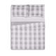 Plaid Twin XL Quilt Set