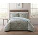 Floral Print Twin XL Comforter Set