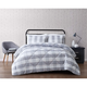 Plaid King Duvet Set