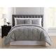 Pleated Arrow Twin XL Comforter Set