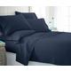 3 Piece Luxury Ultra Soft Twin Bed Sheet Set