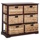 Six Tiered Basket Storage Chest