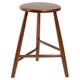 Howie Backless Mid-Century Wood Barstool