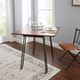 Toriano Drop Leaf Table with Hairpin Legs