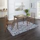 Velli 3-Piece Drop Leaf Dining Set with Ladderback Chairs
