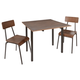 Tabitha 3-Piece Industrial Dining Set