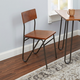Toriano Chair with Hairpin Legs
