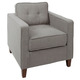 Cadenita Square Arm Tufted Upholstered Club Chair