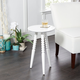 Miral Round Accent Table with Turned Legs