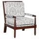 Iris Spindle Wood Chair