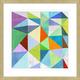 Giclee Colorful Angles Wall Art
