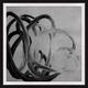 Giclee Silver Freeform Wall Art