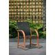Mesh Wood Armchair (Set of 4)