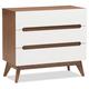 3 Drawer Wood Storage Chest