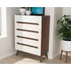 5 Drawer Wood Storage Chest