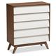 Hildon Wood 5-Drawer Storage Chest