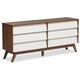 Hildon Wood 6-Drawer Storage Dresser