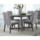 Besteneer Dining Table and 4 Chairs