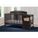 Delta Children Abby Convertible Baby Crib N Changer