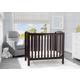 Delta Children Mini Baby Crib with Mattress