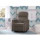 Delta Children Clair Slim Nursery Glider Swivel Rocker Chair