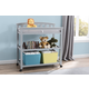 Delta Children Arch Top Changing Table with Wheels