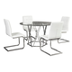 Madanere Dining Table and 4 Chairs