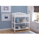 Delta Children Bell Top Changing Table with Wheels