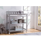 Delta Children Flat Top Changing Table with Wheels