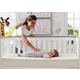 Delta Children Twinkle Stars Supreme Crib and Toddler Mattress