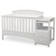 Delta Children Abby Convertible Baby Crib N ChangerSet