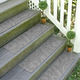 Home Accent Aqua Shield Boxwood Stair Treads (Set of 4)